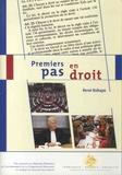 René Robaye - Premiers pas en droit.