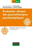 Evaluation clinique des psychothérapies psychanalytiques - Dispositifs institutionnels et groupaux de médiations.