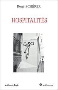 René Schérer - Hospitalités.