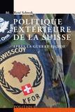 René Schwok - Politique extérieure de la Suisse après la guerre froide.