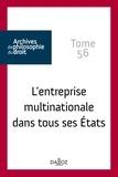 René Sève - L'entreprise multinationale dans tous ses Etats.