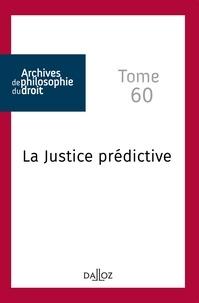 René Sève - La justice prédictive.
