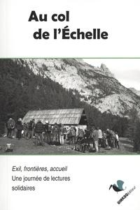 René Siestrunck et Edouard Baer - Au col de l'Echelle.