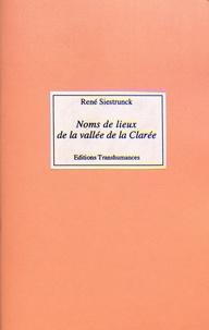 René Siestrunck - Noms de lieux de la vallée de la Clarée.
