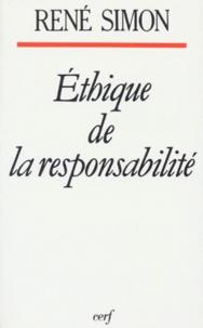 René Simon - Éthique de la responsabilité.