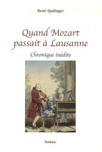 Accentsonline.fr Quand Mozart passait à Lausanne - Chronique inédite Image