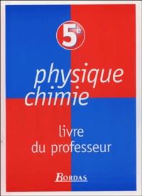 René Vento et Daniel Léger - Physique Chimie 5e - Livre du professeur.