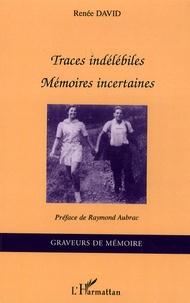 Histoiresdenlire.be Traces indélébiles - Mémoires incertaines Image