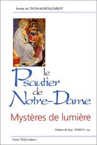 Histoiresdenlire.be Le psautier de Notre-Dame - Mystères de lumière Image