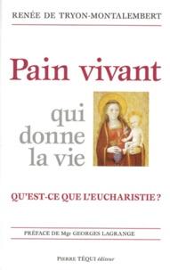 Sennaestube.ch PAIN VIVANT QUI DONNE LA VIE. Qu'est-ce que l'eucharistie ? Image