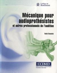 Deedr.fr Mécanique pour audioprothésistes et autres professionnels de l'audition - Avec un cahier complémentaire Image