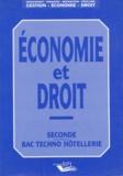 Renée Graglia et Jean-Luc Cordon - Economie et droit.