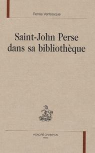Renée Ventresque - Saint-John Perse dans sa bibliothèque.