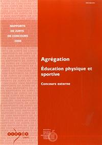 M-J Biache - Agrégation Education Physique et Sportive - Concours externe.