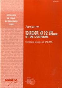 Guy Ménant - Agrégation Sciences de la Vie, Sciences de la Terre et de l'Univers - Concours interne et CAERPA.