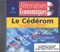 """Alternatives économiques - Alternatives Economiques - Le cédérom, tout """"Alternatives Economiques"""" de janvier 1993 à août 2003."""