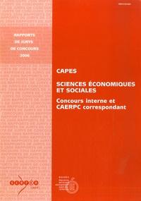 Bernard Simler - CAPES interne et CAERPC, Sciences Economiques et Sociales, 2006 - concours interne et CAERPC correspondant.