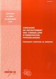 François Le Goff - Concours de recrutement interne et externe des Conseillers d'Orientation Psychologue.
