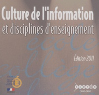 Culture de linformation et disciplines denseignement - CD-ROM.pdf