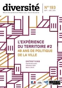 Régis Guyon et Jean-Marie Panazol - Diversité N° 193, septembre-dé : L'expérience du territoire #2 - 40 ans de politique de la ville.