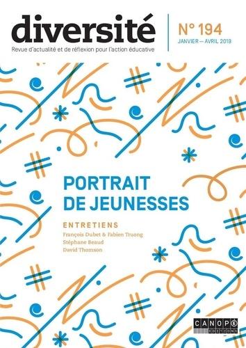 Régis Guyon - Diversité N° 194, janvier-avri : Portraits de jeunesses.