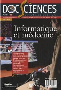 CRDP de Versailles - DocSciences N° 13, Octobre 2010 : Informatique et médecine.