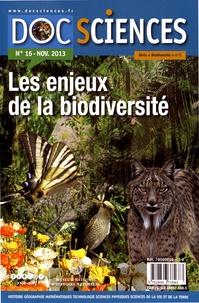 Lydia Bretos - DocSciences N° 16, novembre 2013 : Les enjeux de la biodiversité.