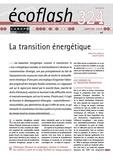 Rodolphe Greggio et Benoît Maffei - Ecoflash N° 324, janvier 2018 : La transition énergétique.