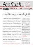 Stéphane Beaud - Ecoflash N° 335, février 2019 : Les méthodes en sociologie.