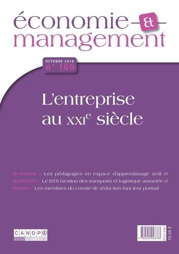 Canopé - Economie et management N° 169, octobre 2018 : .