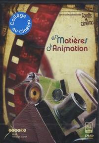 Alban Jamin et Cécile Paturel - En matières d'animation. 1 DVD