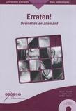 Joachim Köberich - Erraten! Devinettes en allemand - Niveaux A2 et B1 Collège - Lycée. 2 CD audio