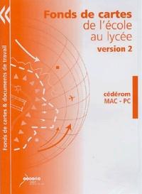 Sylvain Genevois - Fonds de cartes de l'école au lycée - CD-ROM version 2.