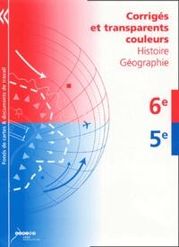 Histoire-Géographie 6e-5e - Corrigés et transparent couleurs.pdf