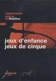 Raoul Bender et Alexandre Del Perugia - Jeux d'enfance, jeux de cirque. 1 DVD