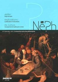 Jeanne Szpirglas - La nouvelle école des philosophes N° 1, Septembre 2011 : .