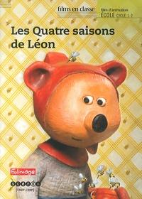 Pierre-Luc Granjon - Les Quatre saisons de Léon. 1 DVD