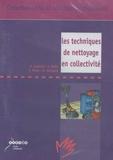 Patrick Castanié et Claude Betin - Les techniques de nettoyage en collectivité - DVD-Vidéo.