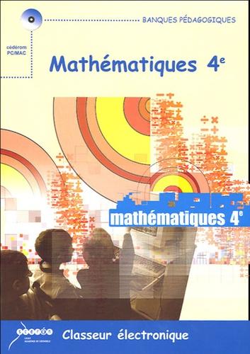 Christiane Michel et Jean Michel - Mathématiques 4e, Classeur électronique - CD-ROM Licence établissement.