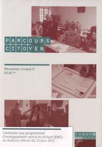 Thierry Aimard et Brigitte Briard - Parcours citoyen - Education civique 3e, ECJS 1re. 1 DVD