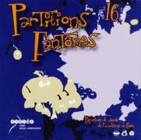CRDP de Basse-Normandie - Partitions fantômes n° 16 - Répertoire de chants de l'académie de Caen. 2 CD audio
