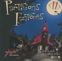 CRDP de Basse-Normandie - Partitions fantômes n° 17 - Répertoire de chants de l'académie de Caen. 2 CD audio