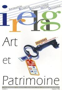 Dominique Borne - Revue IREHG N° 6, Automne 1998 : Art et patrimoine.