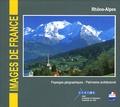 Alain Carrier et Denise Cayla - Rhône-Alpes, paysages géographiques - patrimoine architectural - CD-ROM.