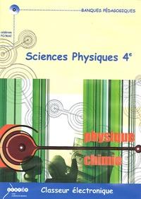 Alain Carrier et Didier Boni - Sciences physiques 4e, Classeur électronique - CD-ROM.