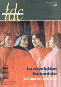 Sophie Houdard - TDC N° 730, du 15 au 28  : La révolution humaniste - Un nouvel âge d'or.