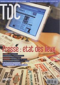 CNDP - TDC N° 868, 15 janvier 2 : Presse : état des lieux.