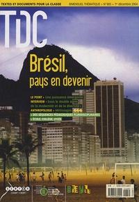 CNDP - TDC N° 885, 1er décembre : Brésil, pays en devenir.