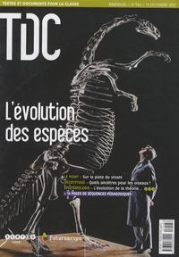 Guy Belzane - TDC N° 946, 15 décembre : L'évolution des espèces.