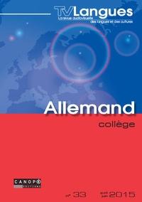 Emmanuelle Chiffre - TVLangues allemand collège n° 33 mai 2015 - TVLangues allemand collège n° 33 mai 2015 424409.
